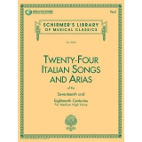 Twenty-Four Italian Songs and Arias of the Seventeenth and Eighteenth Centuries for Medium High Voice (with Audio Access)