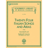 Twenty-Four Italian Songs and Arias of the Seventeenth and Eighteenth Centuries for Medium Low Voice (with Audio Access)