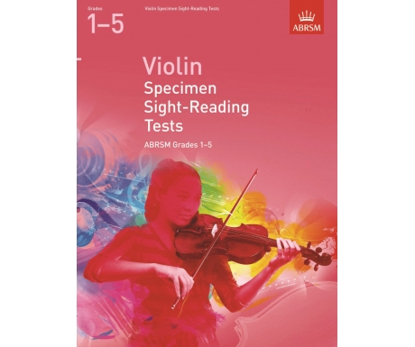 Violin Specimen Sight-Reading Tests ABRSM Grades 1-5