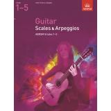 Guitar Scales & Arpeggios ABRSM Grades 1-5