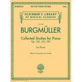 Burgmüller: Collected Studies for Piano Op. 100, 105, 109