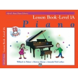 Alfred's Basic Piano Library Lesson Book Level 1A (with CD)