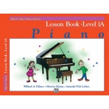 Alfred's Basic Piano Library Lesson Book Level 1A