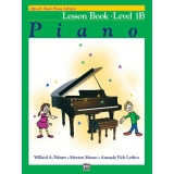 Alfred's Basic Piano Library Lesson Book Level 1B