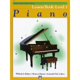 Alfred's Basic Piano Library Lesson Book Level 3