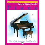Alfred's Basic Piano Library Lesson Book Level 4