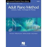 Hal Leonard Student Piano Library Adult Piano Method Book 1 (with Audio and MIDI Access)