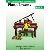Hal Leonard Student Piano Library Piano Lessons Book 4