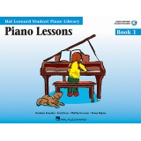 Hal Leonard Student Piano Library Piano Lessons Book 1 (with Audio and MIDI Access)