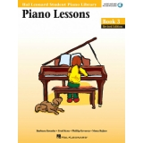 Hal Leonard Student Piano Library Piano Lessons Book 3 (with Audio and MIDI Access)