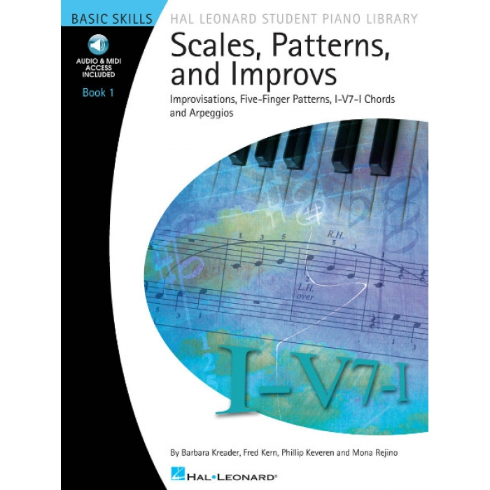 Scales, Patterns, and Improvs Book 1 (with Audio & MIDI Access)