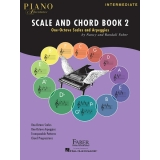Piano Adventures Scale and Chord Book 2 - One-Octave Scales and Arpeggios (Intermediate)