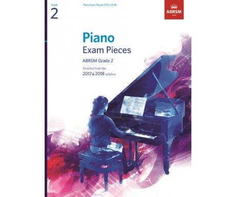 Piano Exam Pieces ABRSM Grade 2 2017 & 2018