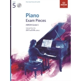 Piano Exam Pieces ABRSM Grade 5 2017 & 2018 (with CD)