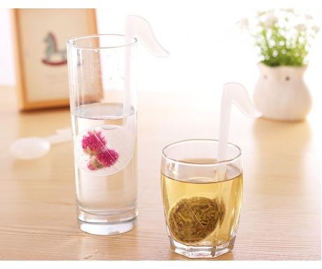 Quaver Tea Strainer (White)