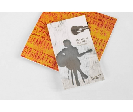 Music Instrument Bookmark (Acoustic Guitar)