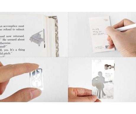 Music Instrument Bookmark (Grand Piano)