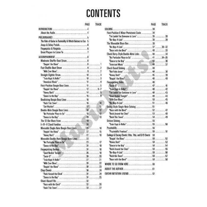 Hal Leonard Guitar Method Rockabilly Guitar With Audio Access