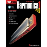 FastTrack Music Instruction Harmonica 1 (For C Diatonic Harmonica) (with Audio Access)