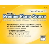 Alfred's Premier Piano Course Flash Cards 1B
