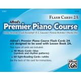 Alfred's Premier Piano Course Flash Cards 2A