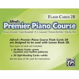 Alfred's Premier Piano Course Flash Cards 2B