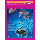 Alfred's Basic Piano Library Top Hits! Christmas Book Level 4