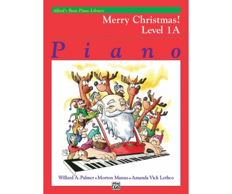 Alfred's Basic Piano Library Merry Christmas! Level 1A