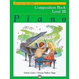 Alfred's Basic Piano Library Composition Book Level 1B