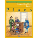 Alfred's Basic Piano Library Composition Book Level 3