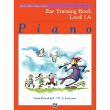 Alfred's Basic Piano Library Ear Training Book Level 1A