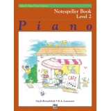 Alfred's Basic Piano Library Notespeller Book Level 2