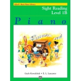 Alfred's Basic Piano Library Sight Reading Book Level 1B