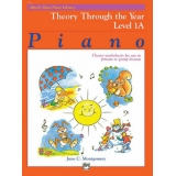 Alfred's Basic Piano Library Theory Through the Year Level 1A