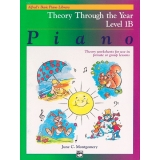 Alfred's Basic Piano Library Theory Through the Year Level 1B