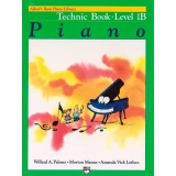 Alfred's Basic Piano Library Technic Book Level 1B