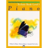 Alfred's Basic Piano Library Technic Book Level 3