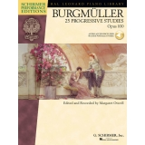 Burgmüller: 25 Progressive Studies Opus 100 (Schirmer Performance Editions with Audio Access)
