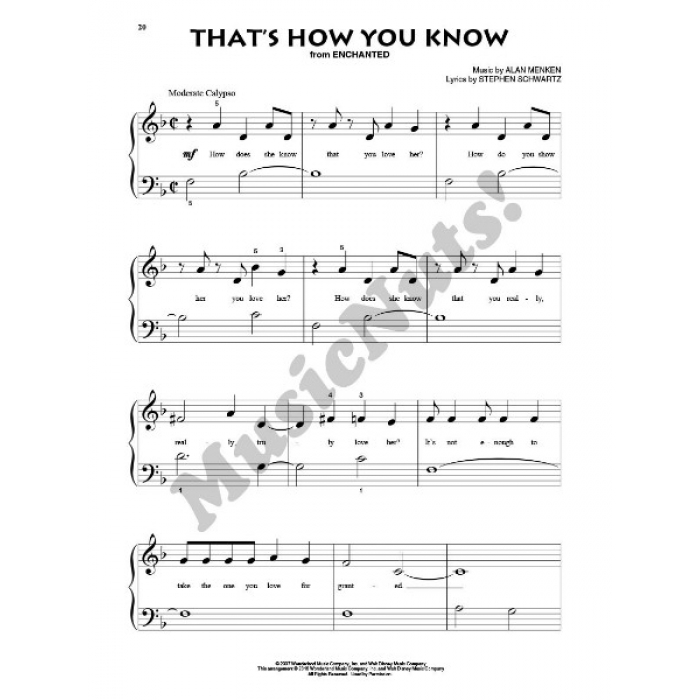 Disney (Beginning Piano Solo)
