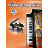 Alfred's Premier Piano Course Lesson 4 (with CD)