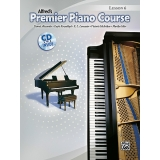 Alfred's Premier Piano Course Lesson 6 (with CD)