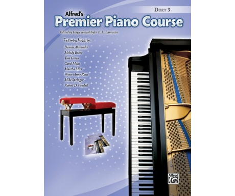 Alfred's Premier Piano Course Duet 3