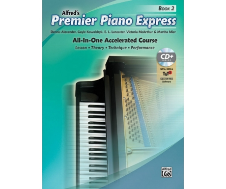 Alfred's Premier Piano Express Book 2 (with CD, Online Audio & Software)