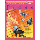 Alfred's Basic Piano Library Top Hits! Duet Book Level 4