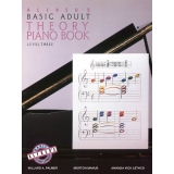 Alfred's Basic Adult Theory Piano Book Level Three