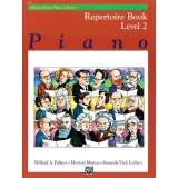 Alfred's Basic Piano Library Repertoire Book Level 2