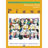 Alfred's Basic Piano Library Repertoire Book Level 3