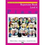 Alfred's Basic Piano Library Repertoire Book Level 4
