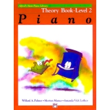 Alfred's Basic Piano Library Theory Book Level 2
