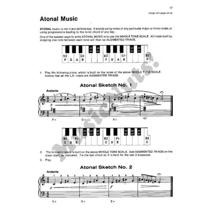 Alfred's Basic Piano Library Theory Book Level 6